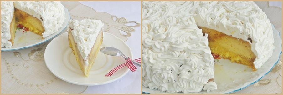 tort cu crema de zahar ars