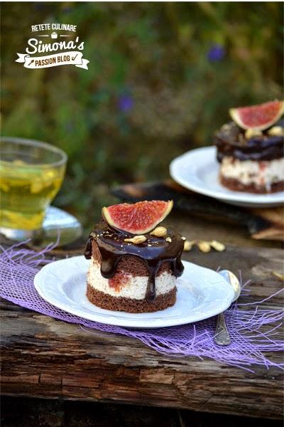 prajitura cu smochine,tamarind si iasomie
