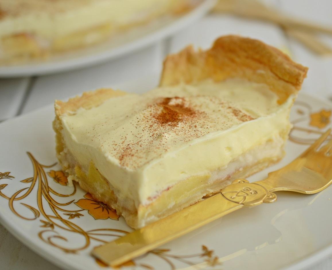 tarta cu vanilie