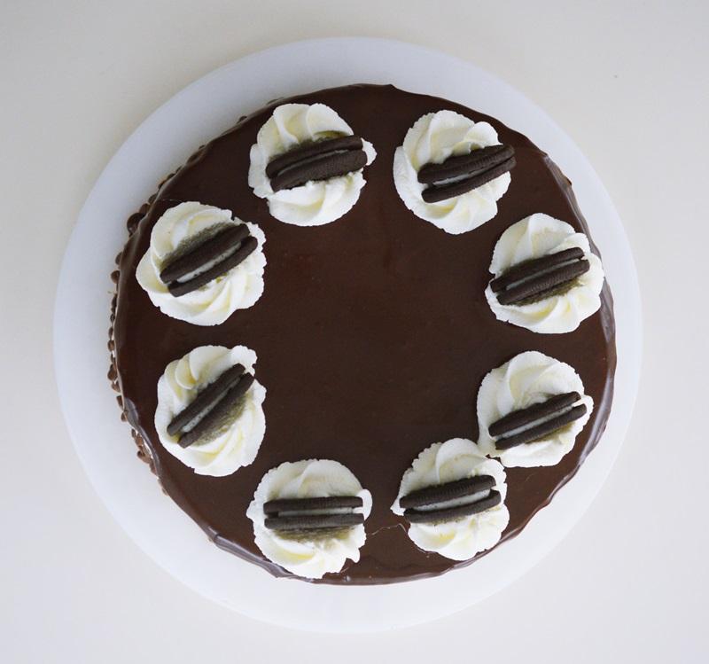 Tort cu Oreo si ciocolata-3