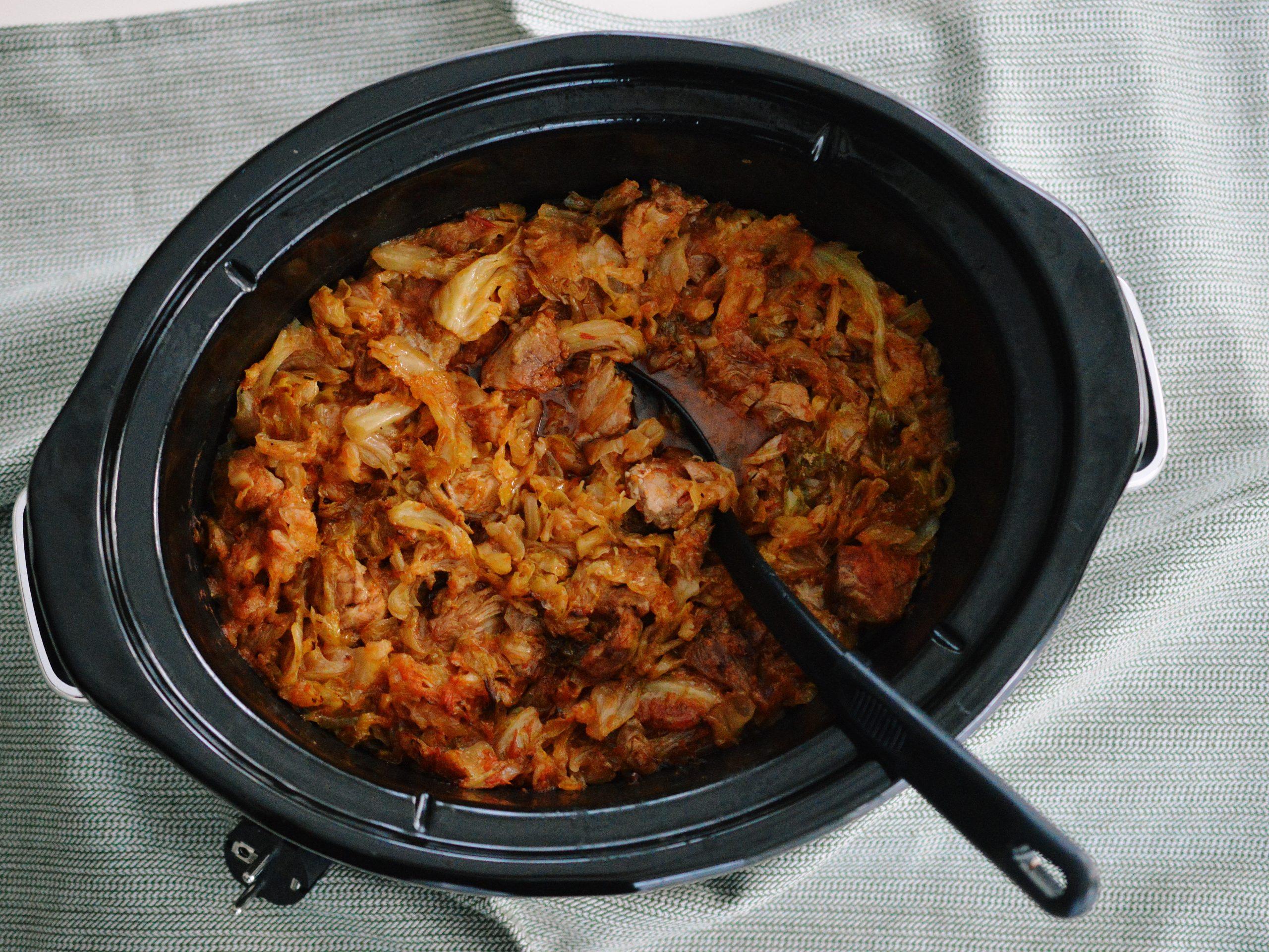 Varza murata cu carne la Slow Cooker 5.6L Digital TimeSelect Crock-Pot